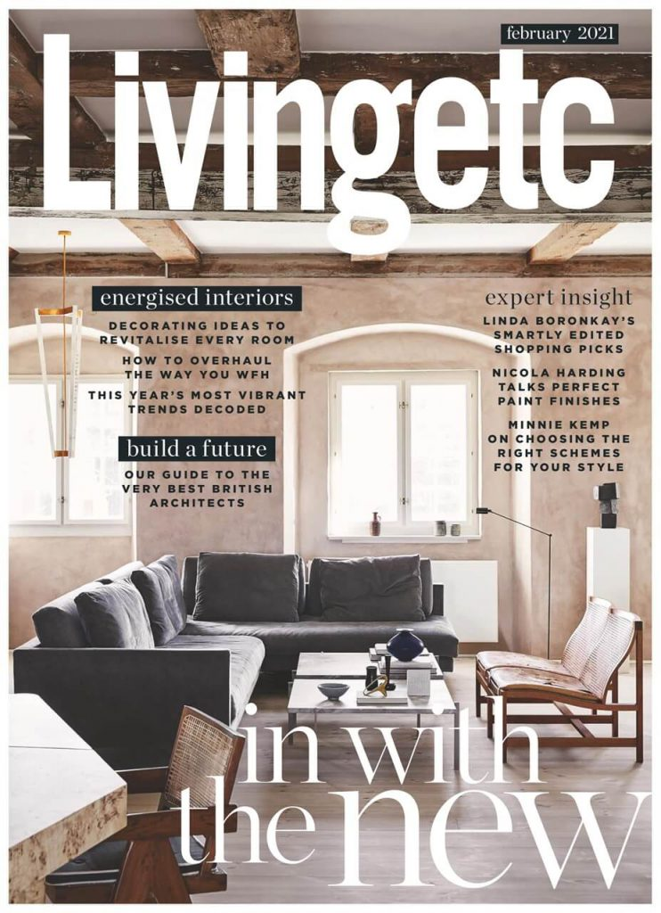 Living Etc Press Front Page